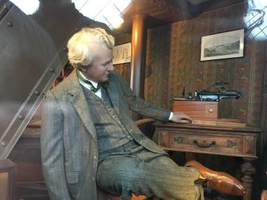 Gustav Eiffel in his Secret Apartment