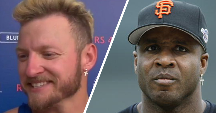 Josh Donaldsons New Earring Was Inspired by Barry Bonds