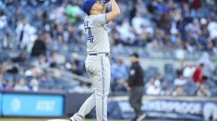 9882927a152 Blue Jays switch Osuna t-shirt giveaway with Solarte t-shirt