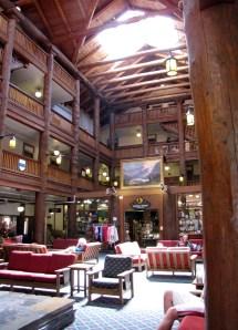 Many Glacier Lodge Lobby