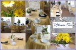 Yellow Afternoon Tea Party