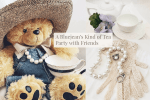 A Bluejean's Kind of Tea Party + Free Guest List Printout