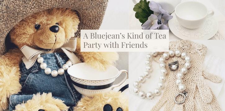 A Bluejean's Kind of Tea Party + Free Guest List Printout
