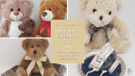 National Teddy Bear Day is September 9th