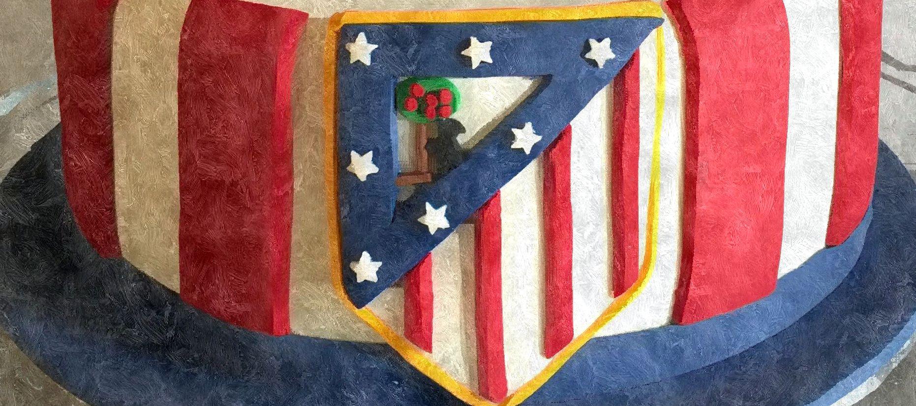 Tarta Atlético de Madrid