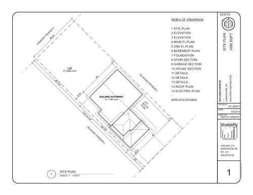 small resolution of a site plan example 2014