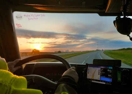Truckin' Away… by the Hours