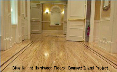 Blue Knight Hardwood Floors  Bonnett Island Project Gallery