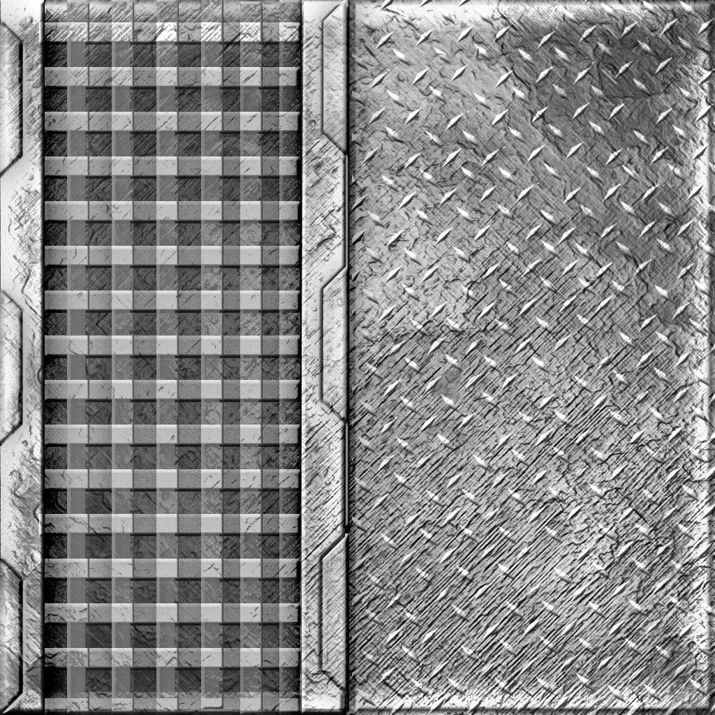 Scifi Metal Textures  Bluekrakens Blog