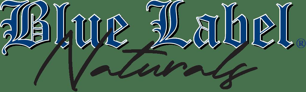 Blue Label Naturals Logo Landing