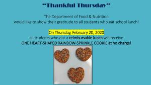 Thankful Thursday Flyer