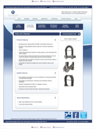 Lifting Shackles - Products