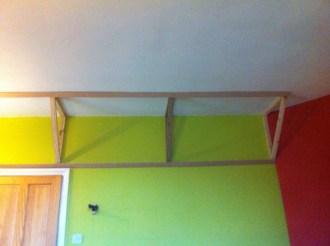 Wall-Ceiling Bass Absorber frame