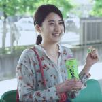 お〜いお茶CMの女優は誰?ゆずの曲を歌うポニーテールの女性がかわいい!