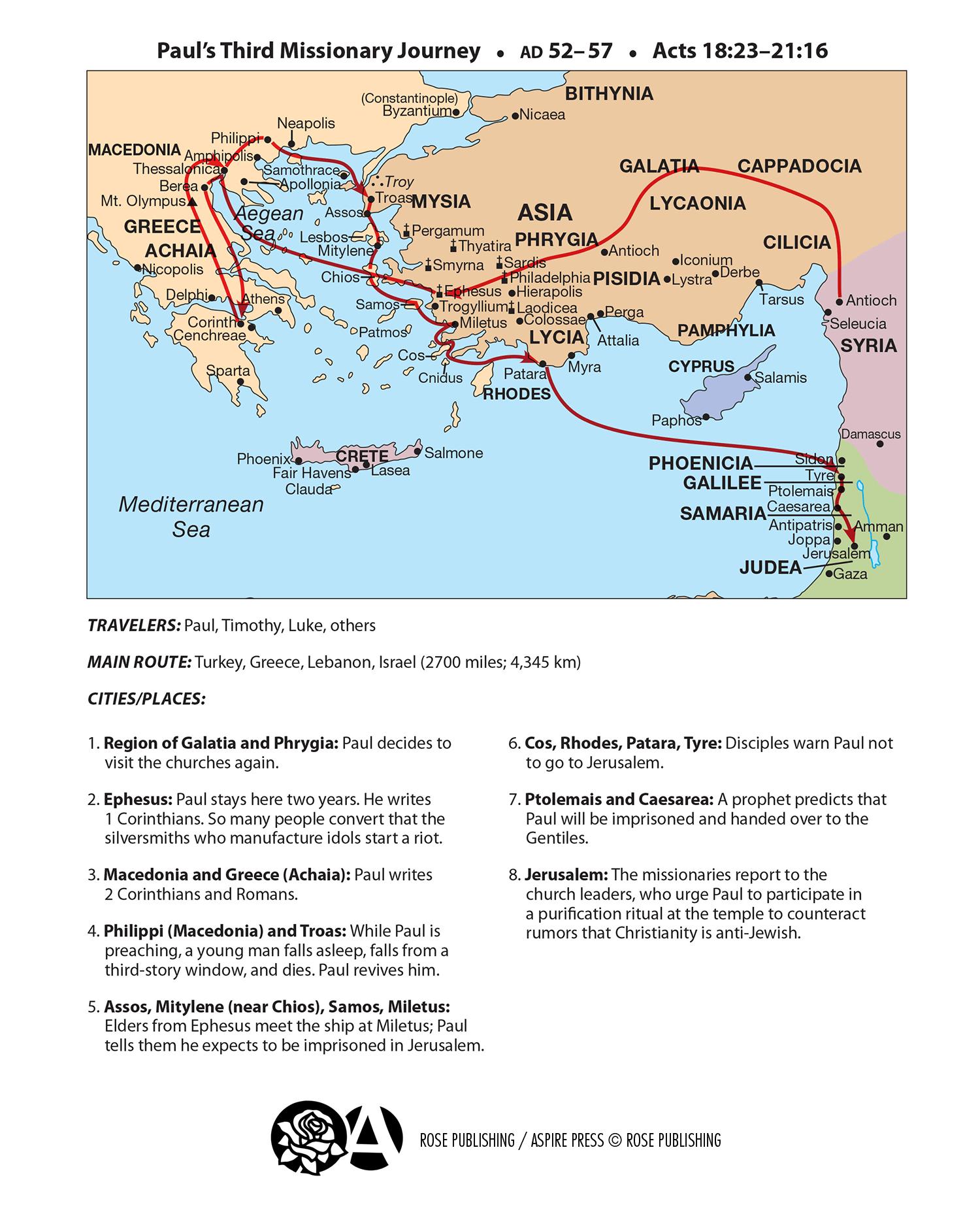 Colossae Map : colossae, Bible, Doctrine, Diagrams, Basic
