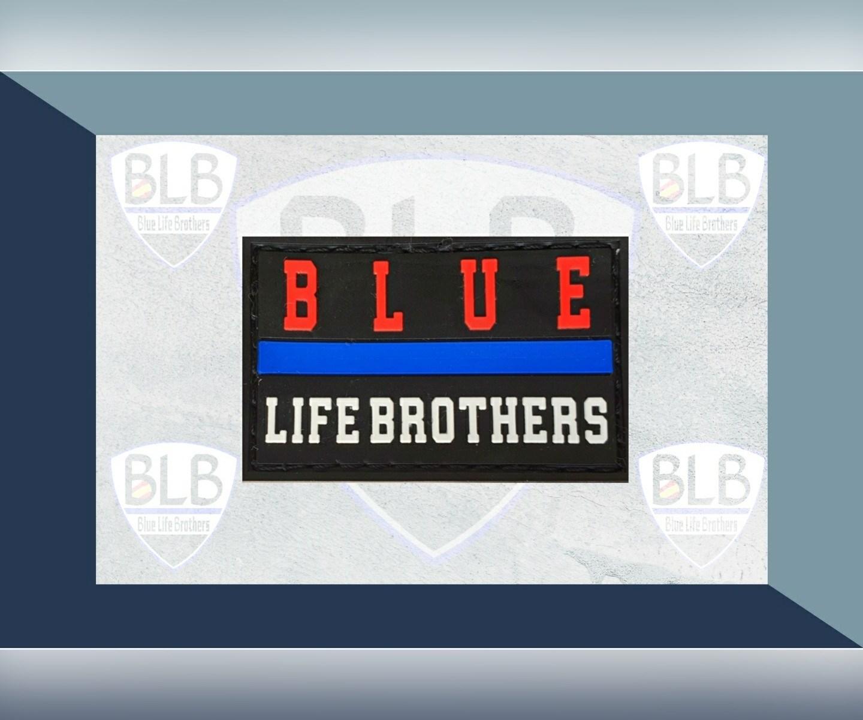 Parche Blue R PVC de Blue Life Brothers
