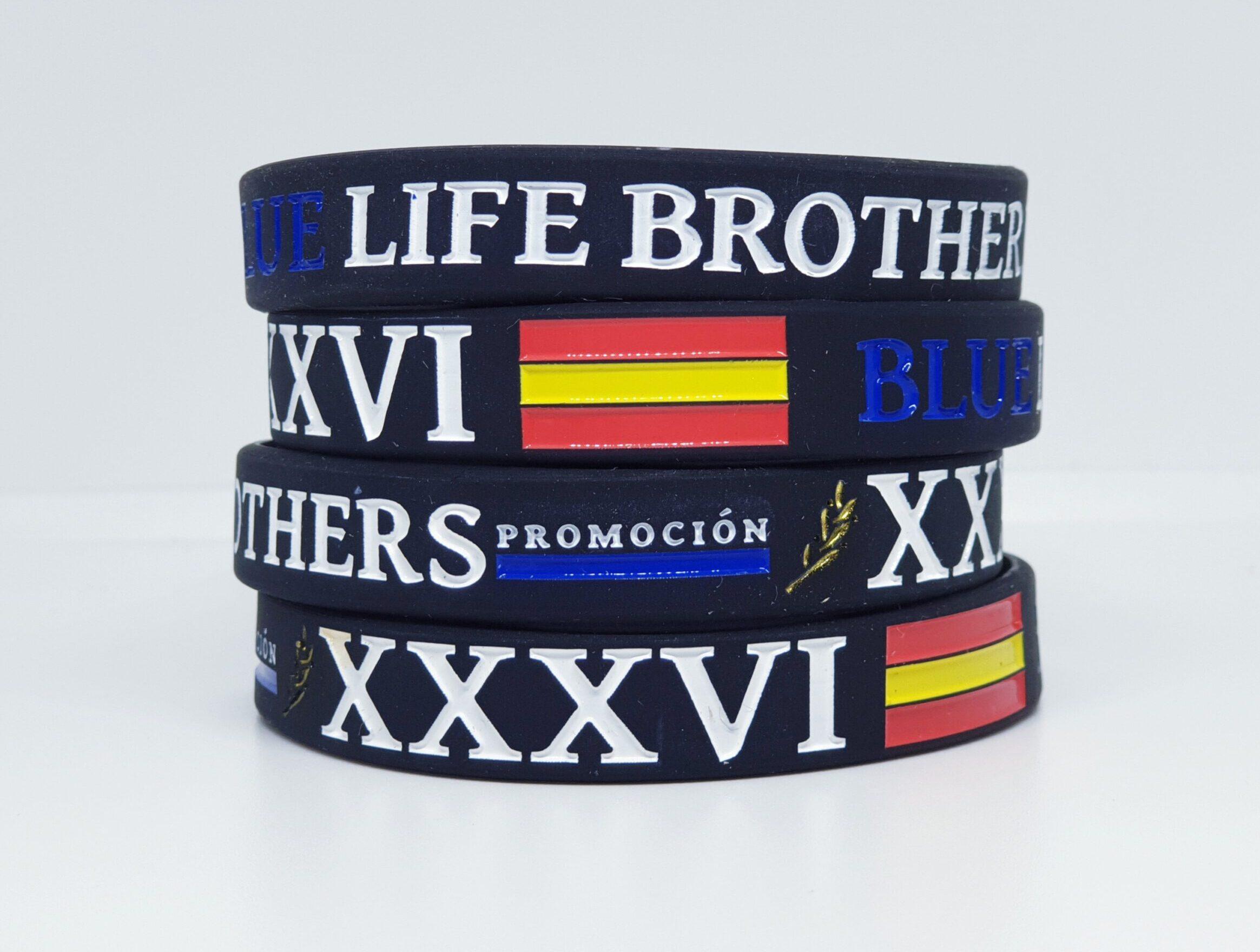 Pulsera blue life brothers promoción XXXVI