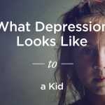 what depression looks like to a kid