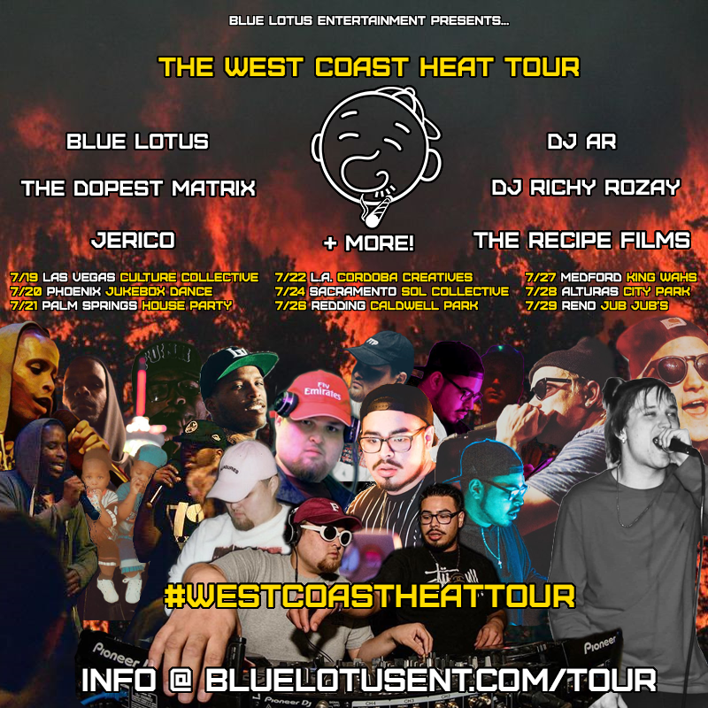 The West Coast Heat Tour draft