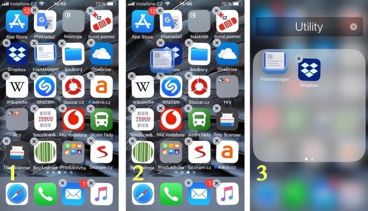 iphone plochy