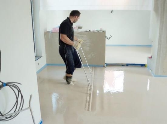 aplikace podlahy