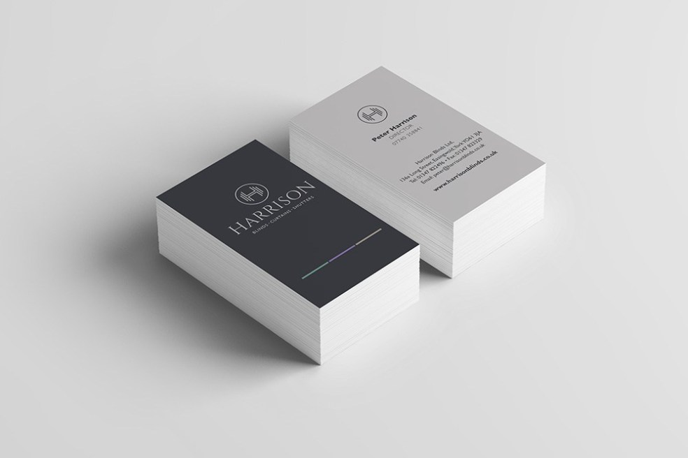 Harrison business cards
