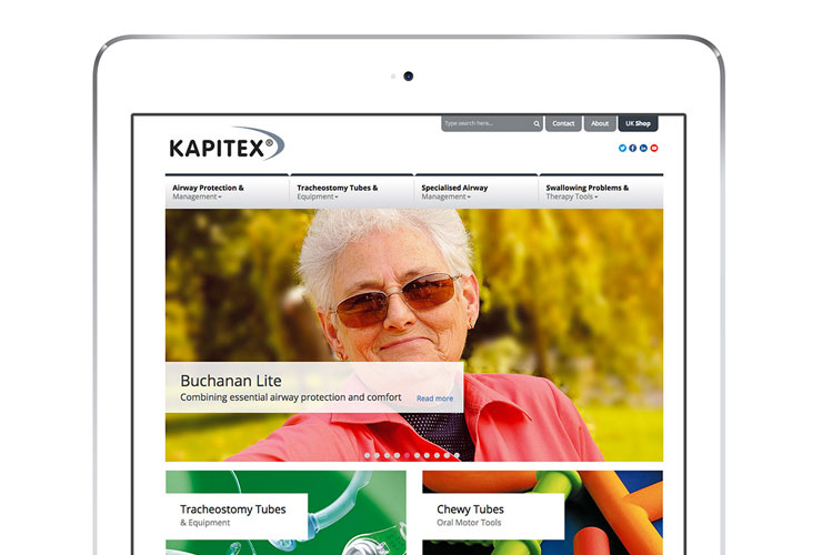 Kapitex Healthcare  - Website Design