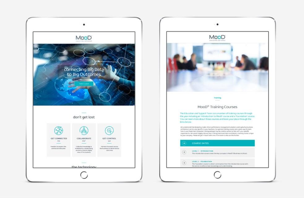 Clients, MooD International website