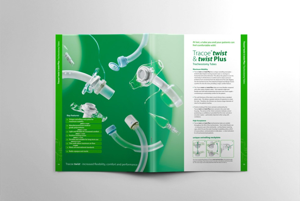 tracheostomy brochure spread