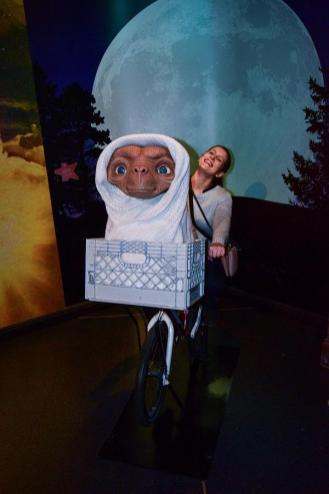 E.T. goes home! :)