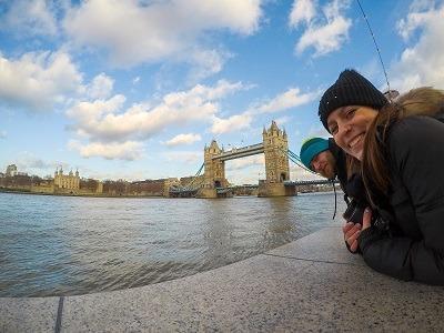 Mandatory selfie by the Tower Bridge