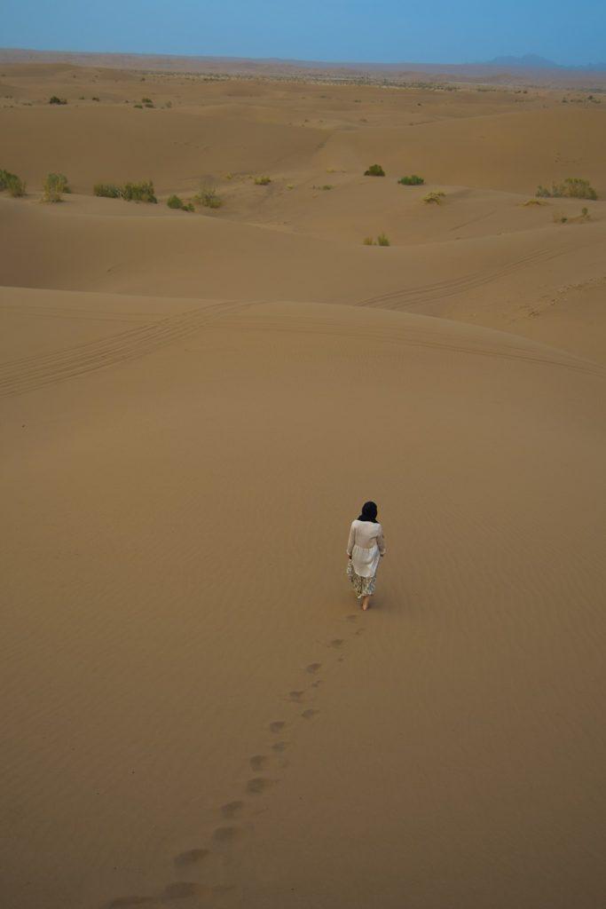 Večeri v puščavi. Iran.