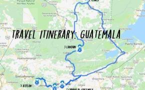 14 day Guatemala itinerary