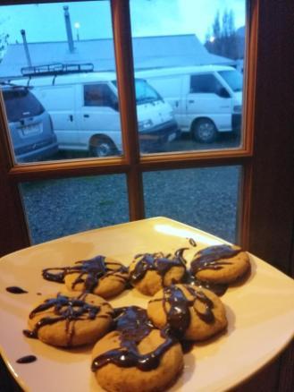 Deževen dan za peko piškotkov