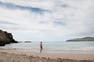 Plan potovanja za velikonočni otok- plaža Ovahe