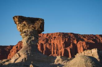 Skulpture v nacionalnem parku Ischigualasto