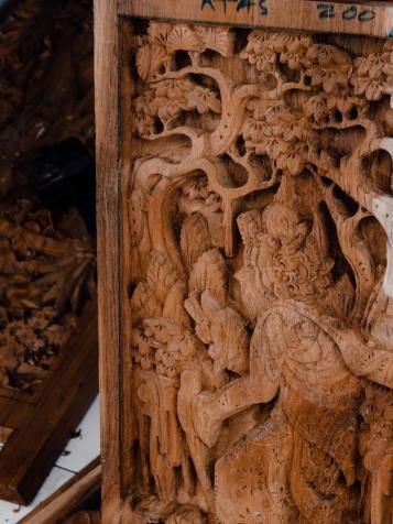 Leseni relief na Baliju