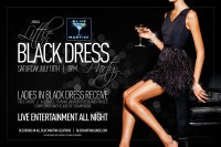 BLUE MARTINIS ANNUAL LITTLE BLACK DRESS PARTY - Blue ...