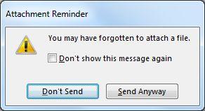 forgotten attachment warning