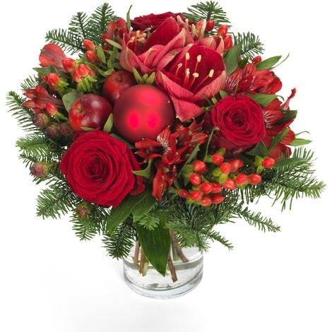 AdventWeihnachtsBlumen uStrusse  Blmchen Floristik