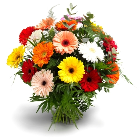 Blumenstrauss zur Hochzeit   BlumenPflanzenFloristik