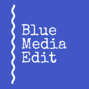 blue media edit logo