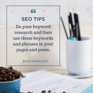 SEO Tips - do your Keyword research