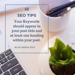 use headings and subheadings