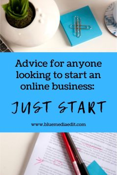 advice on how to start an online business