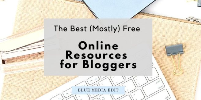 Online Resources For Bloggers