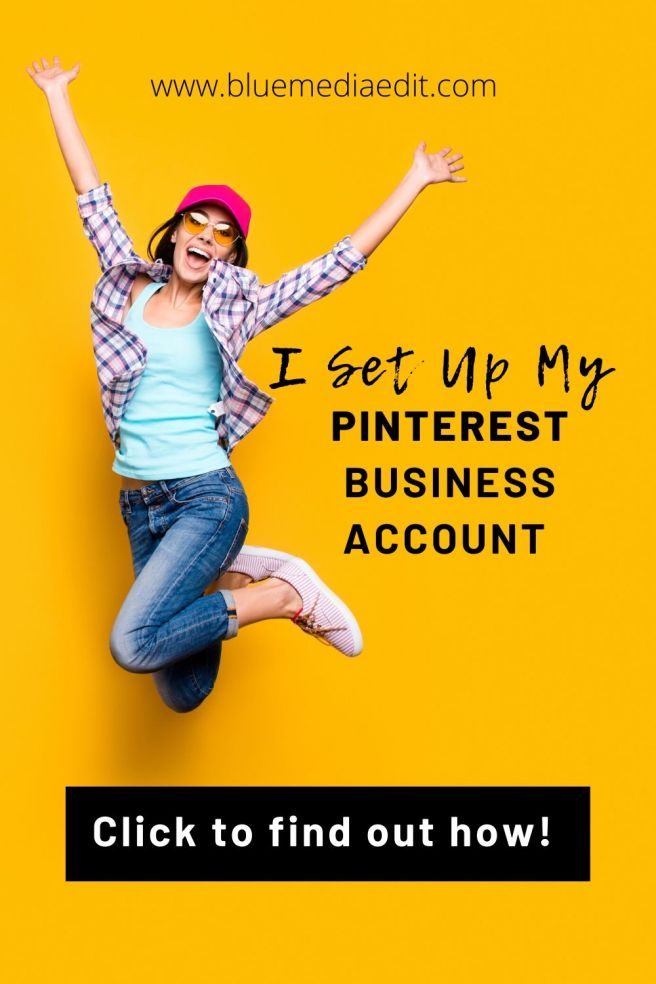 How to set up a Pinterest Business Account for your blog.
