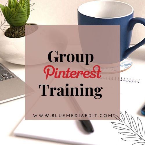group pinterest training