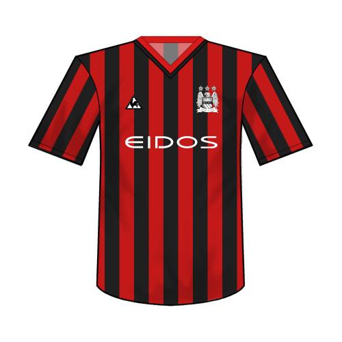 MCFC Kits - Manchester City, Man City History - Bluemoon-MCFC