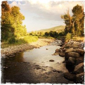 summer.river